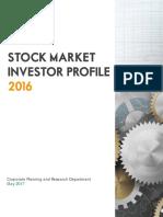 Stock Market Investor Profile 2016 Final