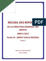 Recueil Questions Reponses DGI IR