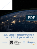 State of Telecommuting U.S. Employee Workforce