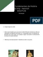 Conceitos Fundamentais Da História Da Arte - Heinrich