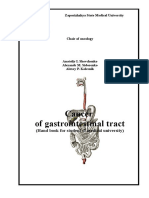 Cancer of Gastroinestinal Tract