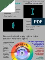 Optics15 Geometrical Optics I