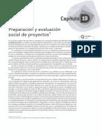 19 - Preparacion y Evaluacion Social de Proyectos