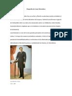 Biografía de Juan Montalvo