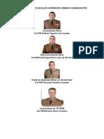 Comandantes Nomes