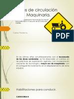 1. Normas de Circulación Vial de Maquinaria Uruguay