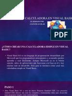 Cómo Crear Una Calculadora en Visual Basic