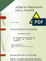 2. Seguridad en Maquinaria Agrícola y Forestal