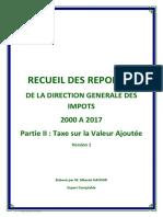 Recueil Questions Réponses DGI - TVA