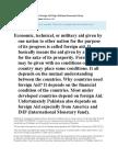 Does Foreign Aid Helps Pakistan Economics Essay