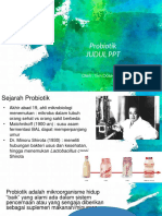 PPT Probiotik