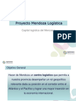 En qué consiste el proyecto Mendoza Logística
