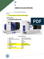 Proforma 934-2017 - Generador Fg Wilson p33