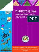 UpperPrimary ICSE