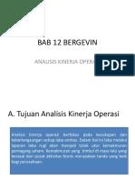 Alk-12 Bergevin Presentase