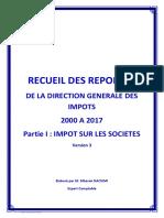Recueil Questions Réponses DGI - Is - V3