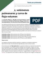 Flujo de aire, volúmenes pulmonares y curva de flujo-volumen - Trastornos pulmonares - Manual MSD versión para profesionales