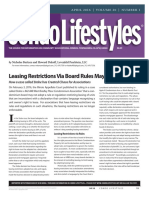 Leasing Restrictions Via Board Rules May Now Be Invalid