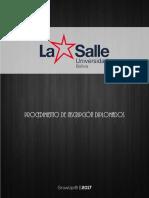 LA SALLE   GROWUP   MANUALES   Procedimiento de Inscripción