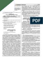 Decreto Legislativo N° 1115 - Medidas que establecen el fortalecimiento del Tribunal Fiscal