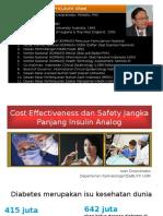 Iwan Cost Effectiveness Insulin Analogue