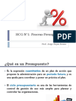 HCG N°2 - Proceso Presupuestario 2015.20