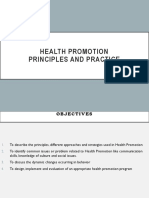 Health Promotion LO1&2