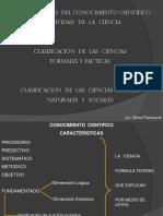 Caracteristicas Conocimiento Cientifico_Objetividad_Clasificacion Ciencias