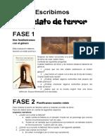 Instrucciones Relato de Terror