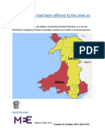 What if Wales had been offered to the Jews as a homeland.docx