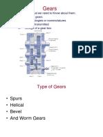 Gears Presentation