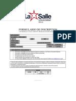 LA SALLE   GROWUP   FORMULARIOS   FORMULARIO DE INSCRIPCION