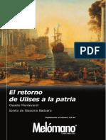 129. C. Monteverdi - El Retorno de Ulises a La Patria