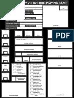 FFVIII Character Sheet