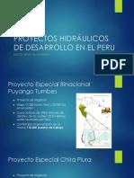 Proyectos Hidráulicos de Desarrollo en El Peru