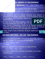 17 HALOGENOS QuimicaDescriptiva.ppt