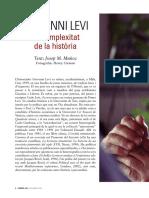 Giovanni Levi La Complexitat de La Historia