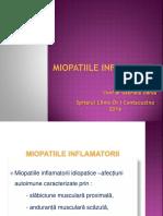 Curs 8 - Miopatiile Inflamatorii