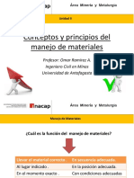 UNIDAD II Conceptos y Principios Del Manejo de Materials