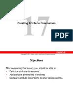 17_Creating Attribute Dimensions