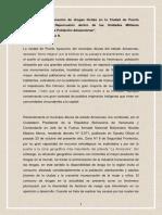 Afectación Del Consumo de Drogas Ilícitas en La Ciudad de Puerto Ayacucho y Su Repercusión Dentro de Las Unidades Militares Acantonadas en Esta Población Amazonense