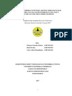 Halaman Judul Full Paper Research Pengaruh Pemberian Suplemen Arginin Fitriana Unsoed