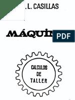 A. L. Casillas - Maquinas - Calculos de Taller