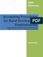 Handbook on Accounting Procedures for RD Institutions