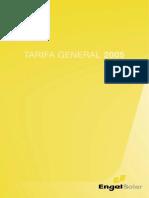 Tarifa EngelSolar 2005