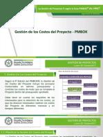 14.0 Presentación Proceso Gestión de Los Costos Del Proyecto