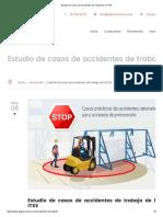 Estudio de Casos de Accidentes de Trabajo de La ITSS