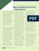 İklim Değişikliği Süreci ve Kyoto Protokü