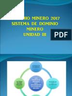 3.- Clase 2 -1- Dominio y Concesion Minera