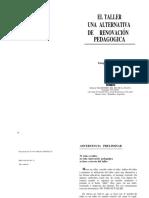 A-3 Ander Egg Ezequiel - El Taller Una Alternativa De Renovacion Pedagogica,págs. 1-37.docx